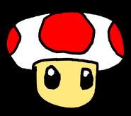 Paper Mushroom