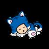 SM3DW BF SleepingCatToadStamp