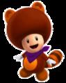 Tanooki Purple Toad