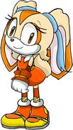 Cream the rabbit boom by artisticfox321-d777zyj
