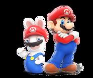 Rabbid n Mario - RabbidsKingdomBattle