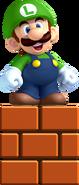 Small Luigi Artwork - New Super Luigi U