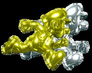Gold Mario and Silver Luigi (HD)