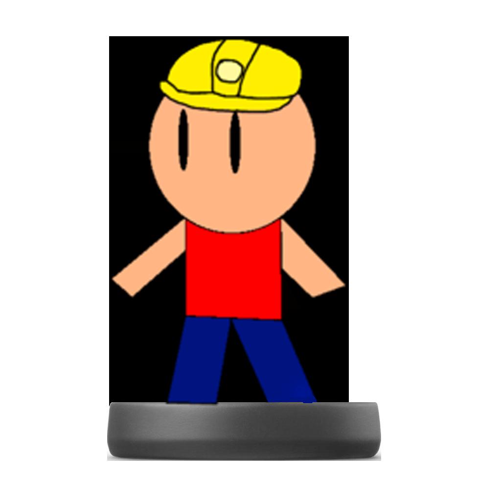 Amiibo/Miner Man