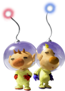 Olimar and Louie - Pikmin 2