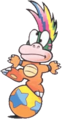 Lemmy Koopa (without scepter)- Super Mario Bros. 3