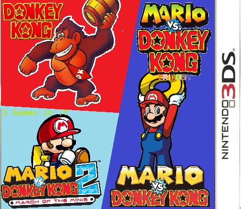 Mario Vs. Donkey Kong Trilogy