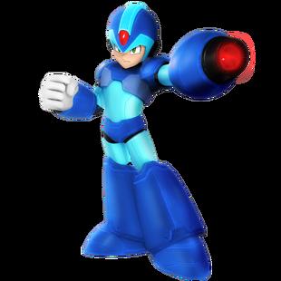 Megaman x render by nibroc rock ddi0b4l-pre