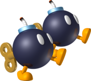 Double Bob-omb - Mario Kart Wii
