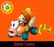 Baby Daisy in Mario Kart 9