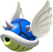 Blue Spiny Shell - Mario Kart DS