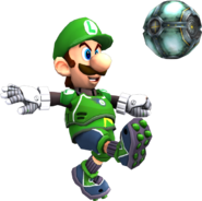 Luigi render test mario strikers charged by luigimariogmod-d5r7rk8