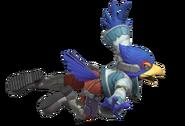 2.4.Falco in the air