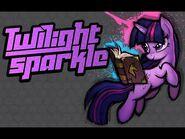 MLP Fighting is Magic - Twilight Sparkle Stage Theme