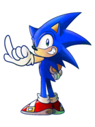 SonicPosing a SF