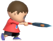 0.5.Red Villager swinging his Axe