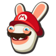 Rabbid Mario Icon