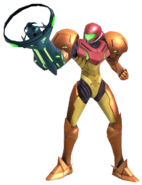 1.4.Samus Showing off her Arm Cannon