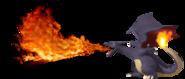 1.3.Gen 1. Shiny Charizard Using Flamethrower