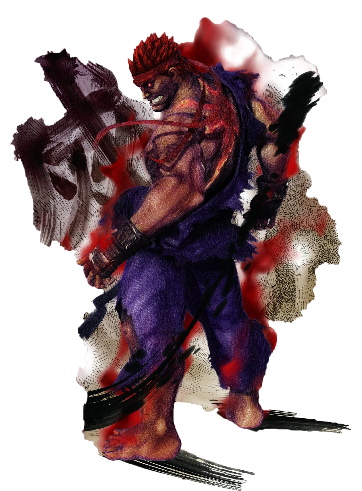 Capcom vs. SNK 3: Battle of the Ages/Evil Ryu