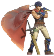 1.2.Radiant Down Ike Crossing his arms