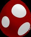 Maroon Baby Yoshi Egg