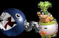 2.2.Iggy Koopa with a Chain Chomp