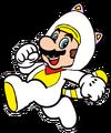 2D White Tanooki Mario