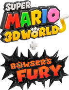Logo-Super Mario 3D World Bowser's Fury