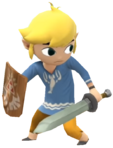1.2.Outset Toon Link Looking Back