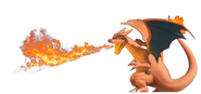 1.6.Charizard using Flamethrower