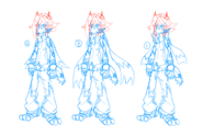 Tigzon character design choices