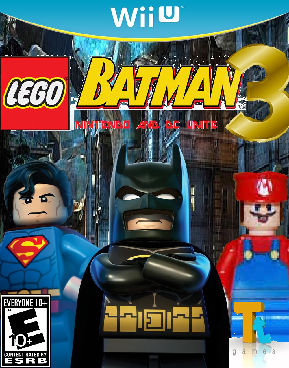 Lego Batman 3: Nintendo and DC Unite