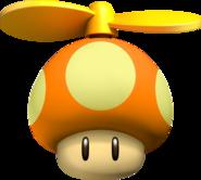 Propeller Mushroom - Mario Kart Wii
