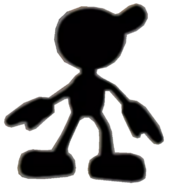 0.3.Mr. Game and Watch Looking Around