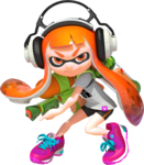 A female Inkling ready for battle.png