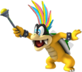Classic Iggy Koopa 3D by DNF