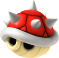 Red Spiny Shell - Mario Kart Wii