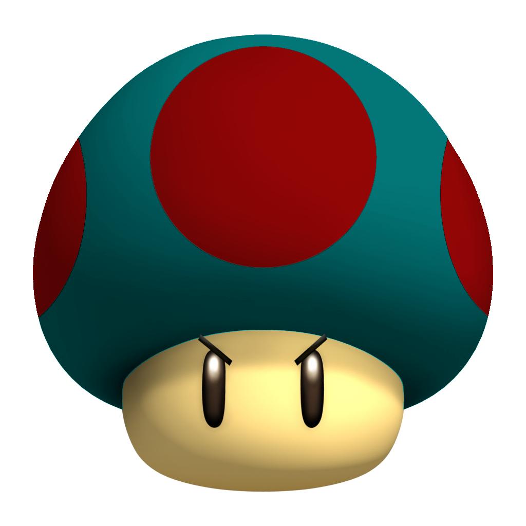 1-Down Mushroom