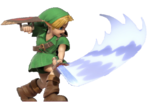 1.2.Young Link Swinging his sword
