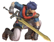 1.9.Path of Radiance Ike Crouching