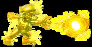 9.Golden Mario throwing a Golden Ball