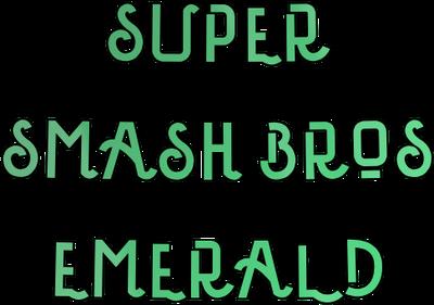 Super Smash Bros Emerald Logo New.png