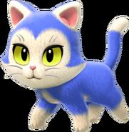SM3DW+BF Artwork Cat (Blue)