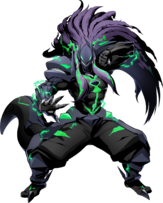 Susanoo (BlazBlue Cross Tag Battle, Character Select Artwork)