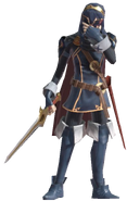 1.3.Lucina putting on her Mask