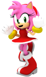 Amy rose render by matiprower-d9zm556.png