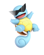 Sunglasses Squirtle in Smash Ultimate