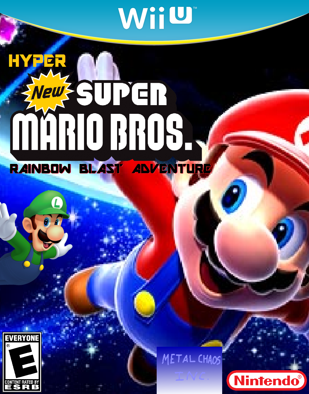 Hyper New Super Mario Bros. Rainbow Blast Adventure