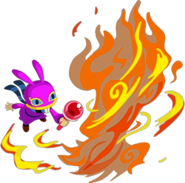 ALBW Ravio Fire Rod Artwork